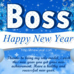 New Year Wishes For My Boss