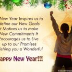 New Year Wishes Messages For Friends And Family