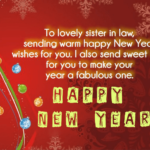 New Year Wishes To Sister In Law Facebook