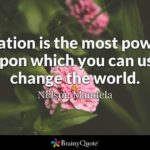 Nice Quotes About Education