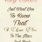 Nice Quotes For Sister