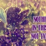 Nothing Is Permanent In This World Quotes Facebook
