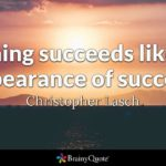 Nothing Succeeds Like Success Quote Facebook