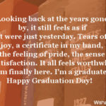 On My Graduation Day Quotes Facebook
