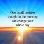 One Positive Thought A Day Pinterest