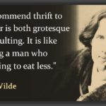 Oscar Wilde Food Quote Twitter