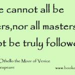 Othello Famous Quotes Pinterest