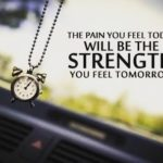 Pain Today Strength Tomorrow Quote Facebook