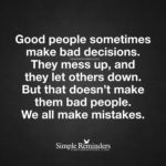 People Make Mistakes Quotes