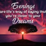 Positive Evening Quotes Facebook