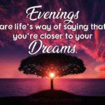 Positive Evening Quotes Facebook
