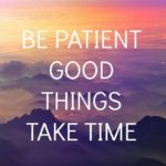 Positive Patience Quotes Facebook