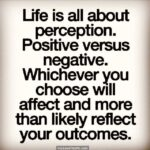 Positive Perception Quotes Facebook