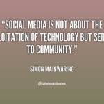 Positive Quotes About Media Pinterest