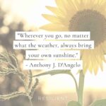 Positive Sunshine Quotes Pinterest