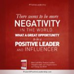 Power Of Positive Leadership Quotes Twitter