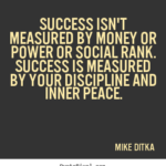 Power Of Success Quotes