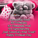 Promise Day For Friends Facebook