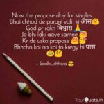 Propose Day For Singles Tumblr