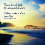 Quotes About A Beautiful Place Facebook