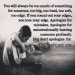Quotes About Apologizing For Hurting Someone