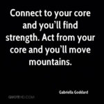 Quotes About Core Strength Pinterest