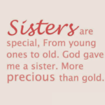 Quotes For A Special Sister