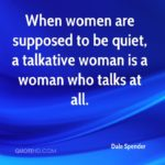 Quotes On Talkative Woman