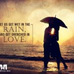 Rain And Love Quotes