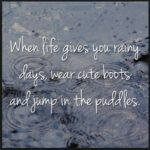 Rainy Day Positive Quotes