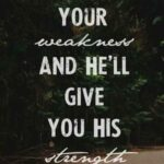 Religious Inspirational Quotes For Strength