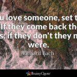 Richard Bach Love Quotes Facebook