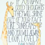 Roald Dahl Smile Quote Pinterest