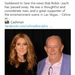 Robin Leach Saying Facebook