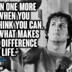 Rocky Balboa Famous Quote Pinterest