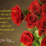 Rose Day Messages For Friends Pinterest