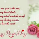 Rose Day Quotes For Girlfriend Facebook