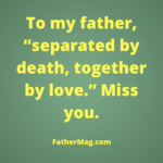 Sad Quotes For Father Pinterest