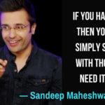 Sandeep Maheshwari Quotes On Success