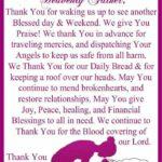 Saturday Prayer Quotes