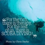 Scuba Diving Quotes Funny Twitter