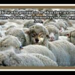Sheep And Wolf Quotes Facebook