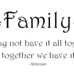 Short Quotes About Family Strength