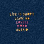 Short Words About Life Pinterest