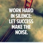 Silence And Success Quotes Facebook