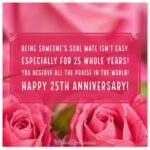 Silver Jubilee Marriage Anniversary Wishes