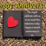 Six Month Anniversary Quotes Pinterest