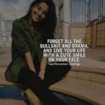 Smile Comment For Girl Pinterest