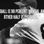 Sport Is 90 Mental And 10 Physical Quote Twitter