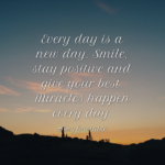 Stay Positive And Smile Facebook